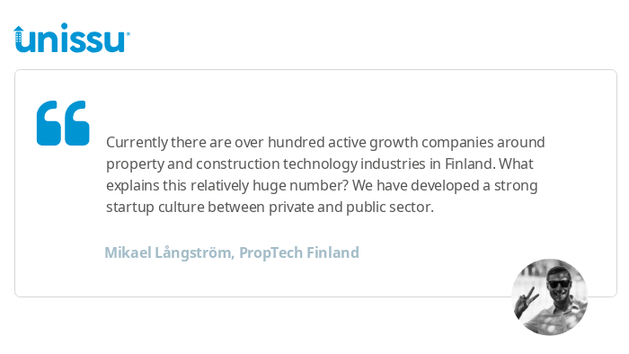 The growth of PropTech in Finland - Resources - Unissu